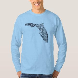 Sleeved Shirt des Floridas der Männer lang