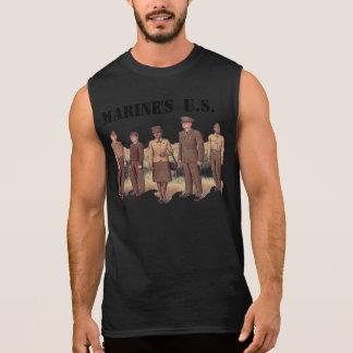 Sleeveless T - Shirt des Marinesoldaten US