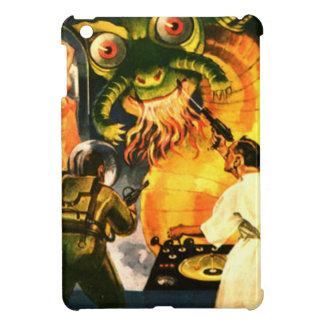 Slimey Monster mit einem Bart iPad Mini Hülle