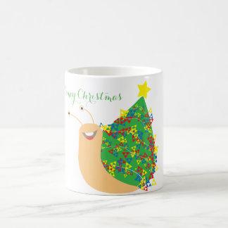 Slimey WeihnachtsTasse Kaffeetasse