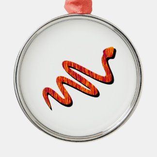 Slither Weg Silbernes Ornament
