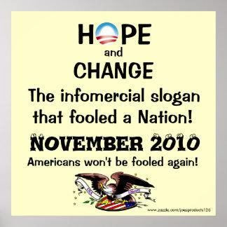 Sloganplakat Poster