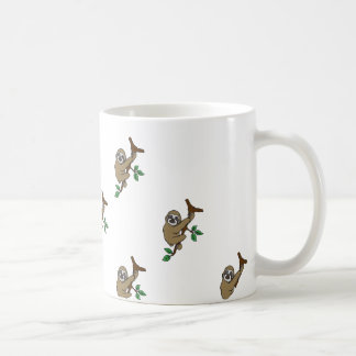 Sloth-Druck-Tasse Kaffeetasse