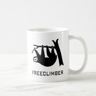 sloth faultier climber freeclimber freeclimbing kaffeetasse