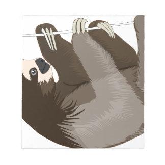 slothcolour notizblock