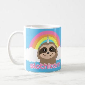 Slothicorn Slothunicorn-Regenbogen-Tasse Kaffeetasse