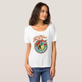 Slouchy der Freund-T-Shirt der Frauen T-Shirt