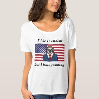 Slouchy Motto-T - Shirt der Frauen