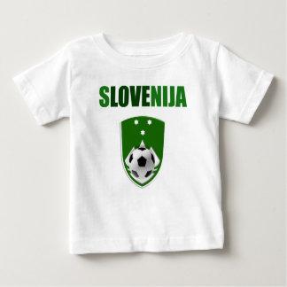 Slovenija Liebe - Slowenien-Fußballgeschenke Baby T-shirt