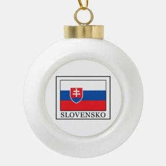 Slovensko Keramik Kugel-Ornament