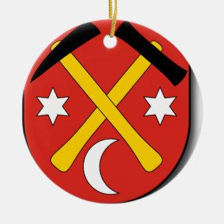 Slowakei #2 rundes keramik ornament