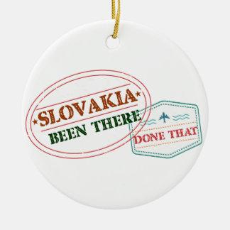 Slowakei dort getan dem rundes keramik ornament