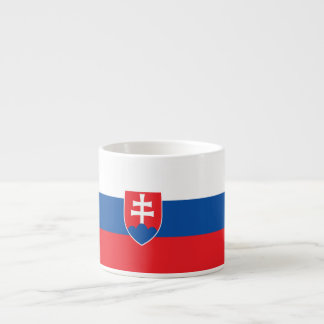 Slowakei-Flagge Espressotasse