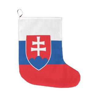 Slowakei-Flagge Großer Weihnachtsstrumpf