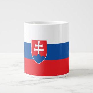 Slowakei-Flagge Jumbo-Tasse