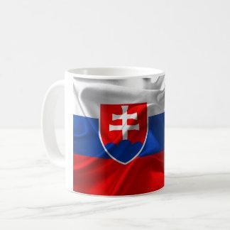 Slowakei-Flagge Kaffeetasse
