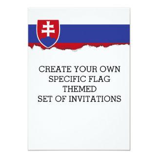 Slowakei-Flagge Karte