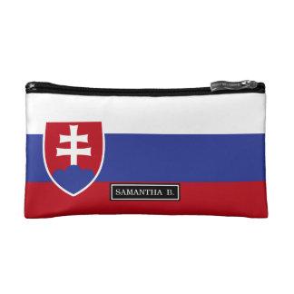 Slowakei-Flagge Kosmetiktasche