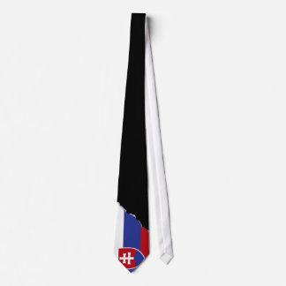 Slowakei-Flagge Krawatte