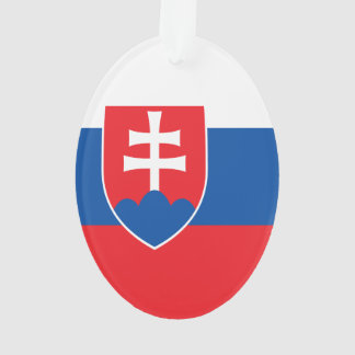 Slowakei-Flagge Ornament