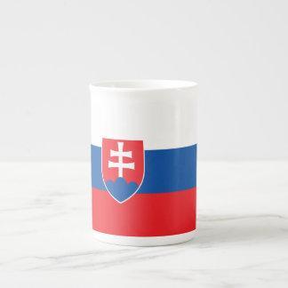 Slowakei-Flagge Porzellantasse