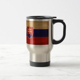 Slowakei-Flagge Reisebecher