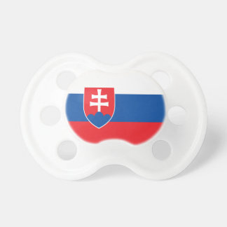 Slowakei-Flagge Schnuller