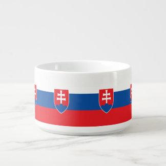Slowakei-Flagge Schüssel