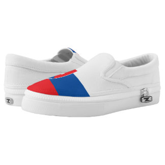 Slowakei-Flagge Slip-On Sneaker