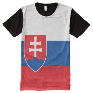Slowakei-Flagge T-Shirt Mit Bedruckbarer Vorderseite