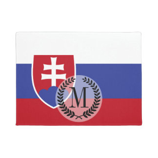 Slowakei-Flagge Türmatte