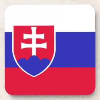 Slowakei-Flagge Untersetzer