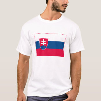 Slowakei-Flaggen-T - Shirt