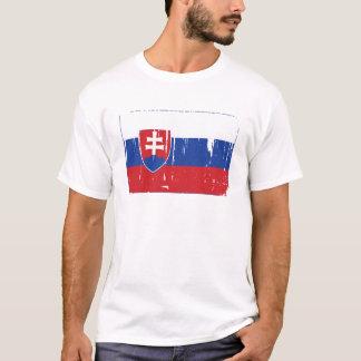 Slowakei-Flaggen-Welt T-Shirt