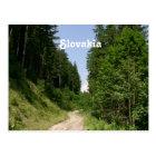Slowakei Postkarte