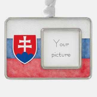 Slowakei Rahmen-Ornament Silber