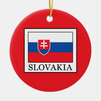 Slowakei Rundes Keramik Ornament