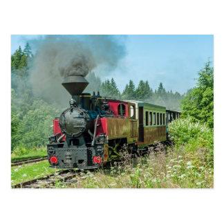 Slowakei-Schmalspur-Eisenbahn Cierny - Balog Postkarte