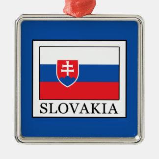 Slowakei Silbernes Ornament