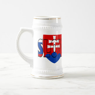 Slowakei Stein Bierglas