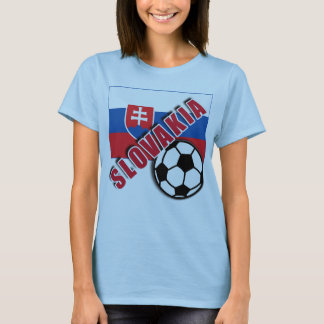 SLOWAKEI-WeltFußballfan-T-Shirts T-Shirt