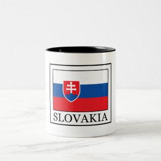 Slowakei Zweifarbige Tasse