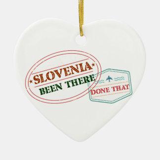 Slowenien dort getan dem keramik ornament