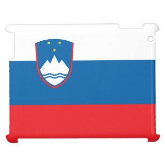 Slowenien-Flagge iPad Hülle