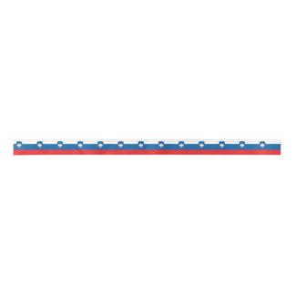 Slowenien-Flagge Satinband