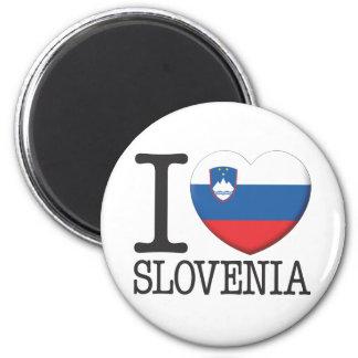 Slowenien Runder Magnet 5,1 Cm