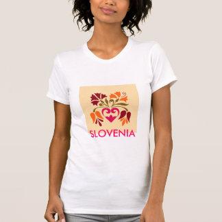 Slowenisch dekorative Kunst-T - Shirt