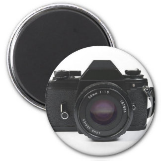 slr Fotokamera - klassischer Entwurf Runder Magnet 5,1 Cm