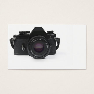 slr Fotokamera - klassischer Entwurf Visitenkarte