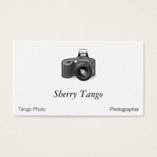 SLR-Kamera Visitenkarte